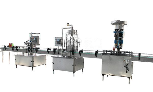 1 Liter Glass Bottle Pagpuno Capping And Labeling Machine