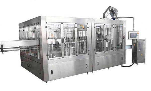 8000BPH Awtomatikong Coconut Oil Filling Machine Line