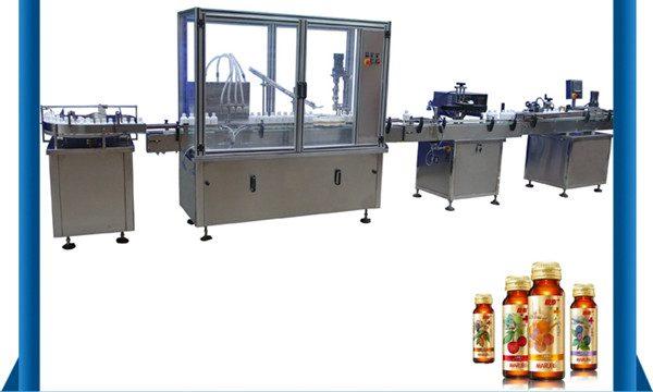 Ang China Supplier Awtomatikong Honey Bottle Liquid Filling Machine
