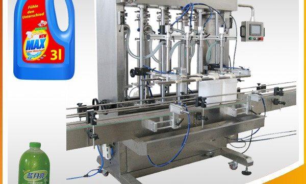 Double-Head Buong-Awtomatikong Piston Type Liquid Pagpuno ng Machine