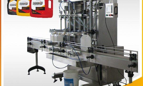 Ang 500ml-2L Awtomatikong Pagpapuno ng Machine ng Gasolina / Paghugas ng Liquid Filling Machine