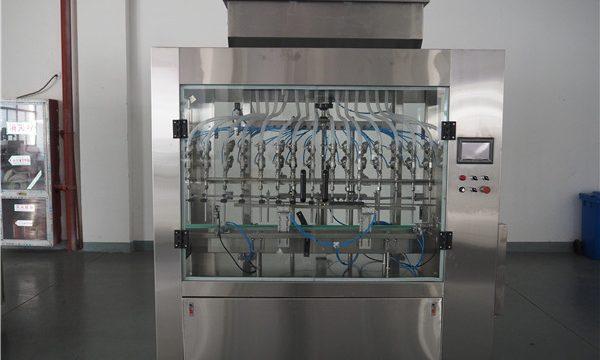 Awtomatikong 12 Heads Atmospheric Pressure Liquid Filling Machine