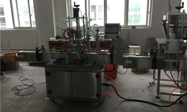 Awtomatikong Piston Liquid Filling Machine 50ml hanggang 1L