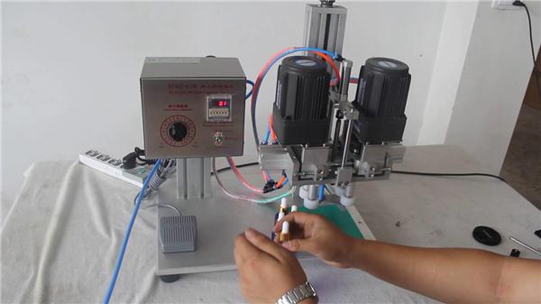 Buong Awtomatikong Pneumatic Capping Machine tagagawa