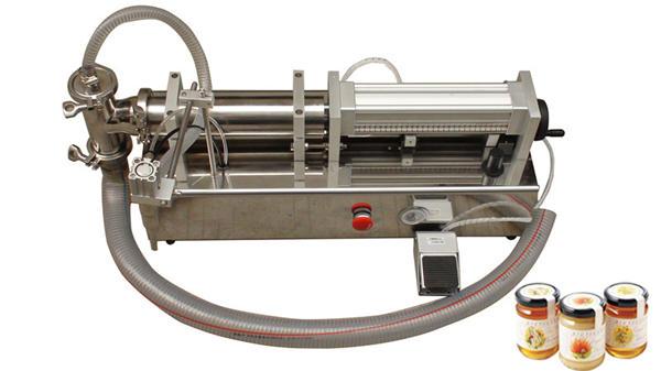 Ang Semi Awtomatikong High Viscosity Lliquid Honey Filling Machine