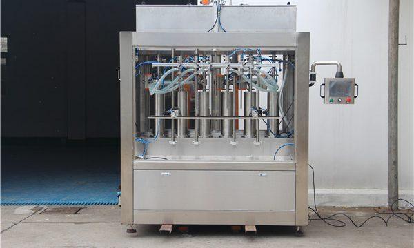 Purong Pneumatic Semi-Awtomatikong Tomato Sauce Filling Machine