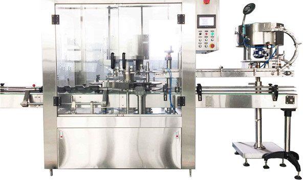Round Liquid Bottle Rotary Capping Machine