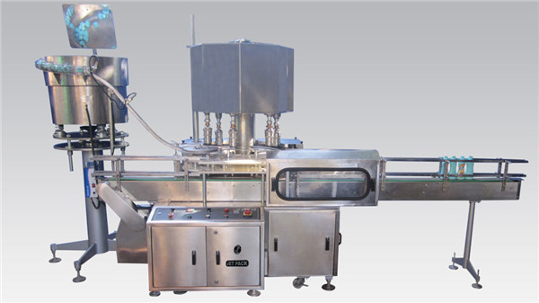 Rotary Cosmetic Filling at Capping Machine