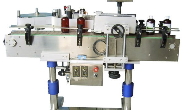 Awtomatikong Round Bottle Sticker Labeling Machine Para sa Mga Binili