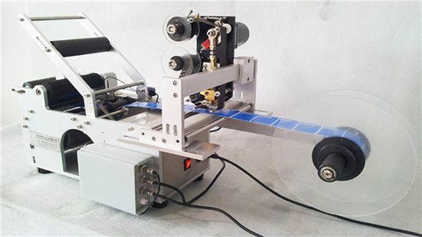 Maliit na Round Bottle Llabeling Machine