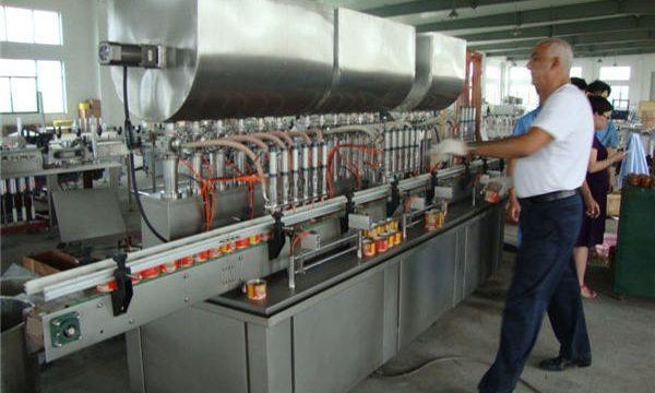 200-1000ml Awtomatikong Soy Sauce Filling Machine
