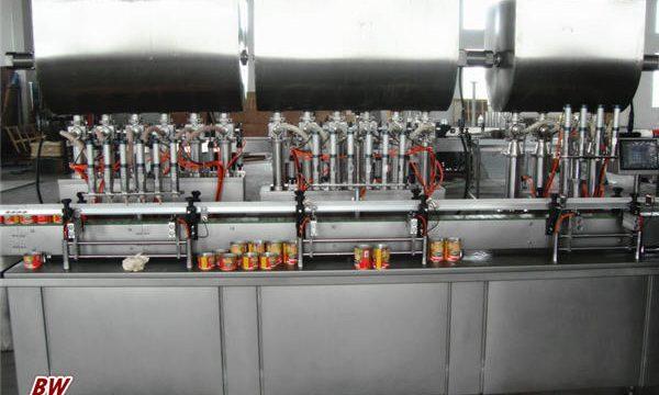 Awtomatikong Hot Pizza Sauce Filling Machine