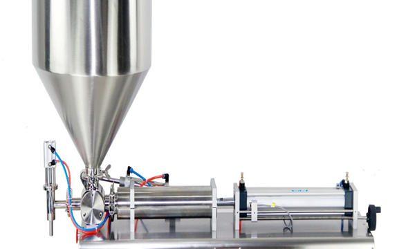 Ang Semi-awtomatikong Piston Jar Cream Filling Machine
