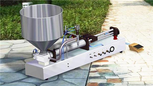 Semi-Auto Vertical Tooth Paste Filling Machine