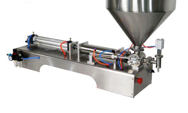 Semi-Awtomatikong Piston Thick Sauce Filling Machine